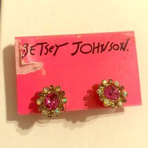 Brand new Betsey Johnson Halo Earrings
